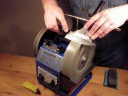 Как правильно точить нож на точильном станке