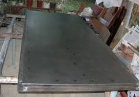Самодельные входные металлические двери