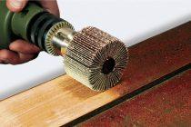 Насадка на дрель для шлифовки дерева