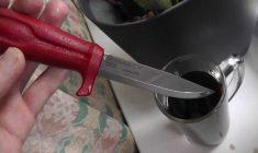 Как воронить металл в домашних условиях