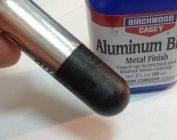 Как зачернить алюминий в домашних условиях