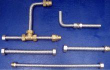 Гибкие трубы из нержавеющей стали для воды